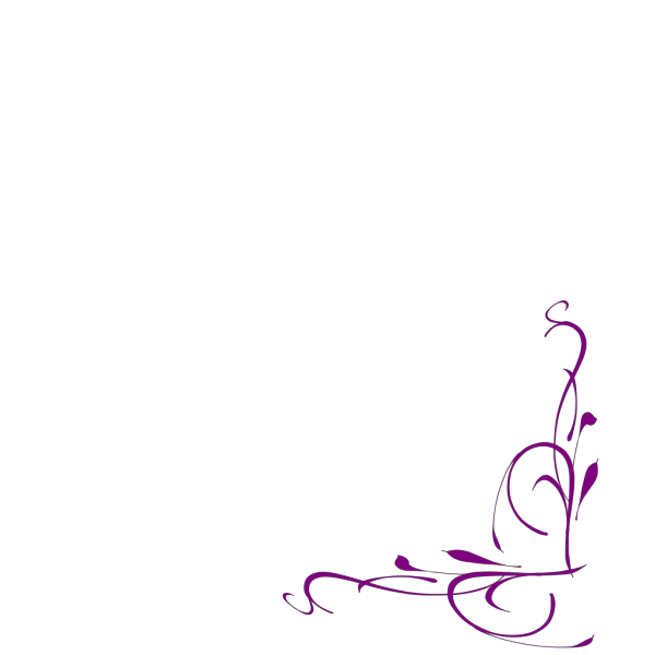 Floral Swirly PNG Clip art