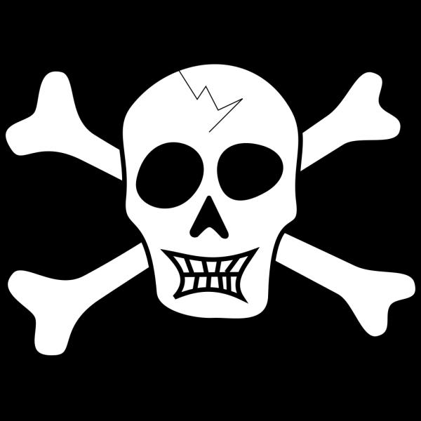 Pirate Skull And Bones PNG Clip art