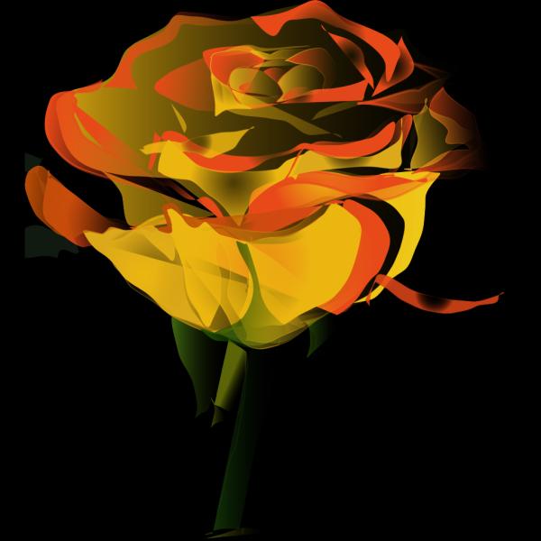Yellow Rose PNG Clip art