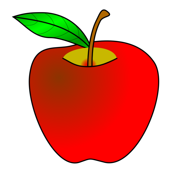Gray Apple PNG Clip art