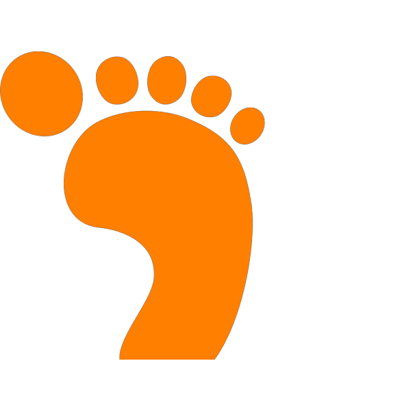 Orange Cat Face PNG Clip art