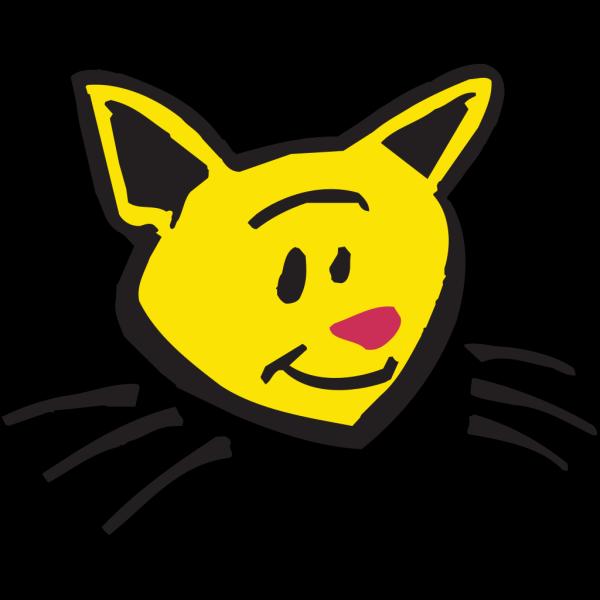 Smiling Cat Art PNG Clip art
