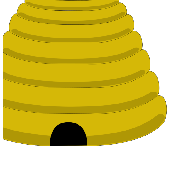 Simple Beehive Art PNG images