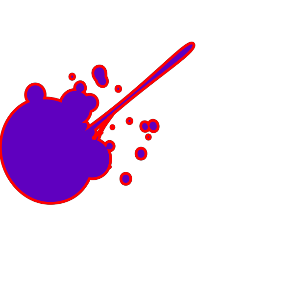 Ink Splat PNG Clip art