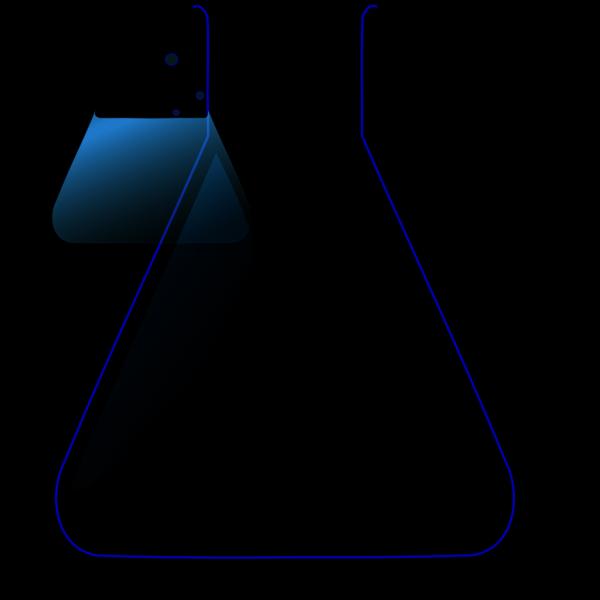 Chemistry Flask PNG Clip art