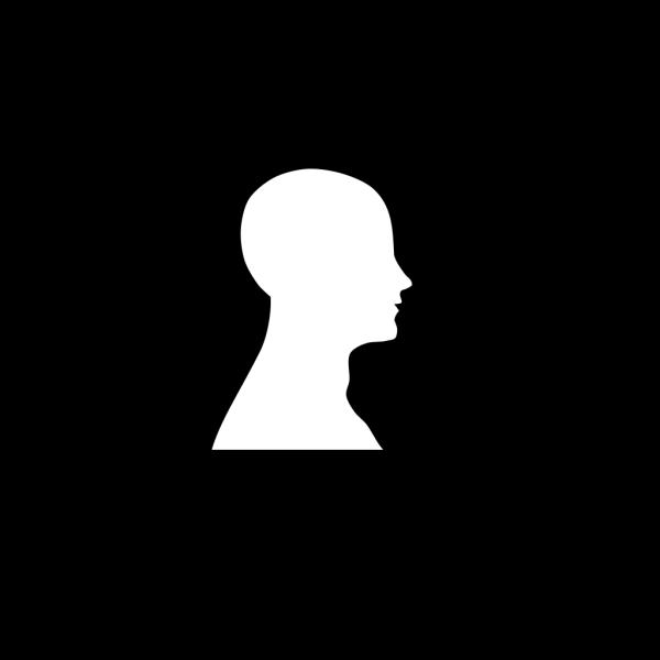 Bald Eagle Head Outline PNG Clip art