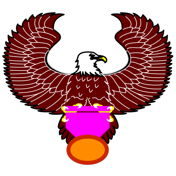 Eagle With Medal PNG images
