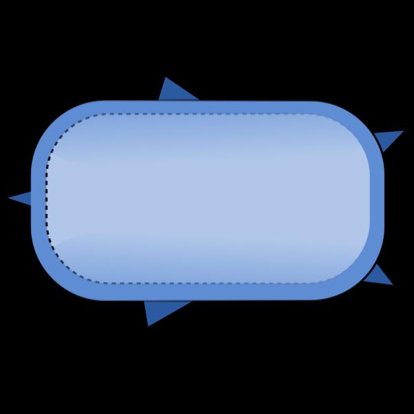 Blue Button PNG Clip art