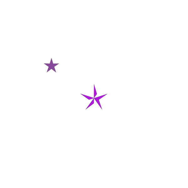 Red Blue Purple Stars PNG Clip art
