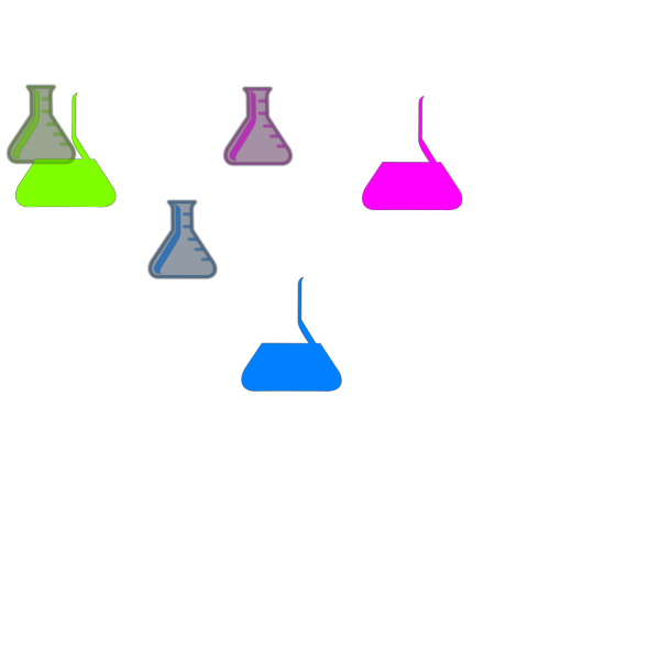Flasks PNG icons