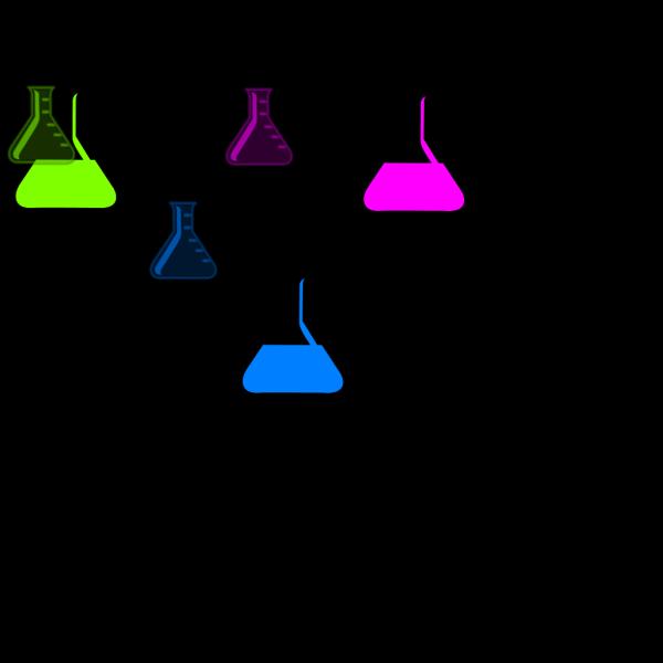 Flasks PNG Clip art