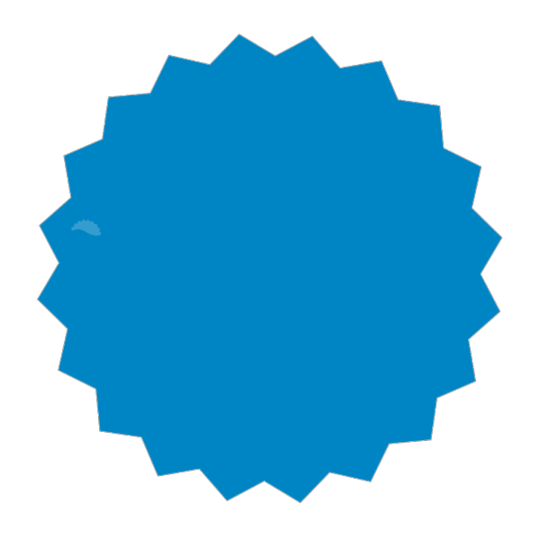 Blue Sticker PNG images