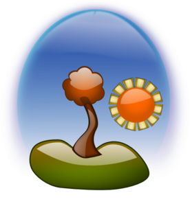 Blue Sky Sun Shine PNG icon