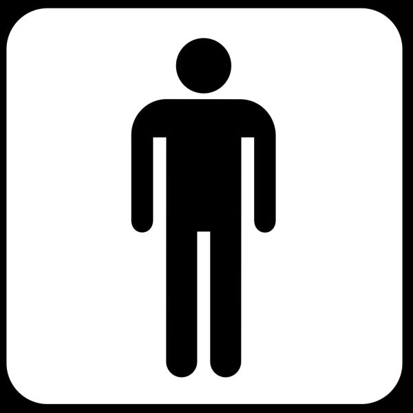 Mens Room 2 PNG Clip art