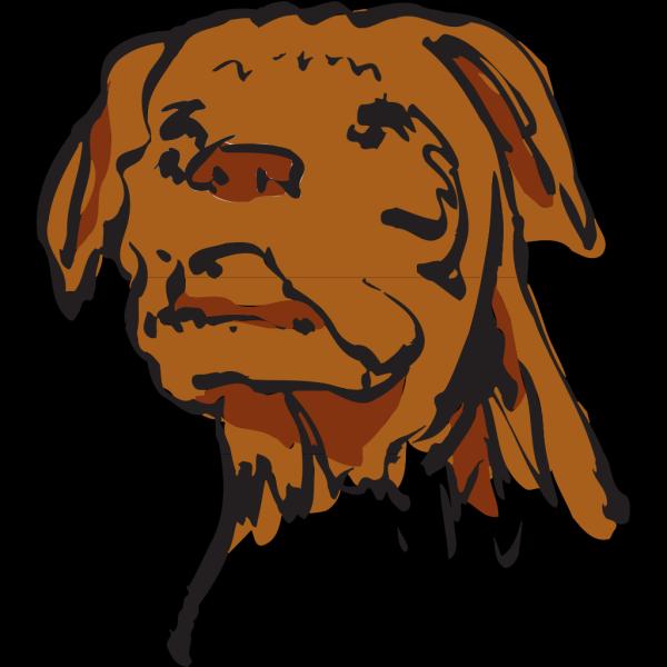 Dog Face Art PNG Clip art