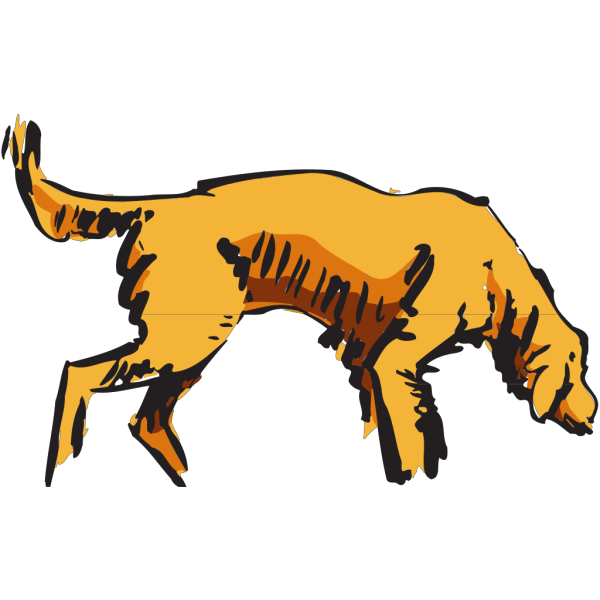 Sniffing Dog PNG Clip art