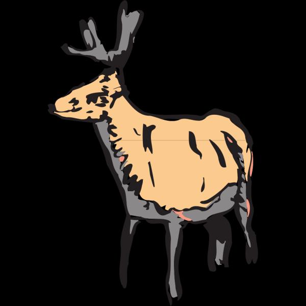Deer Art PNG Clip art