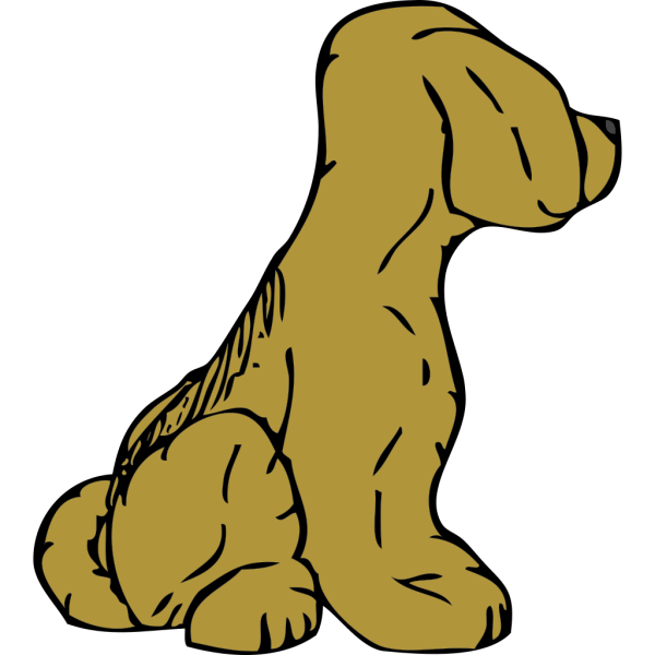 Dog From Other Side PNG Clip art