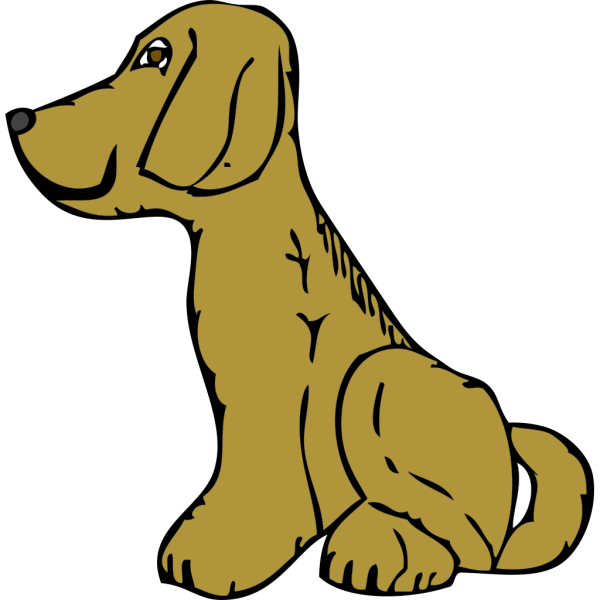 Dog Side View PNG Clip art