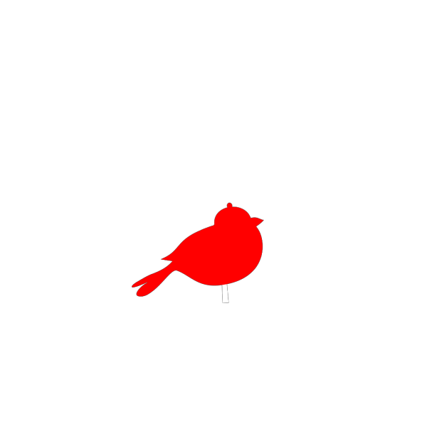 Red Bird PNG Clip art