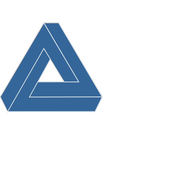 Blue Triangle 2 PNG images