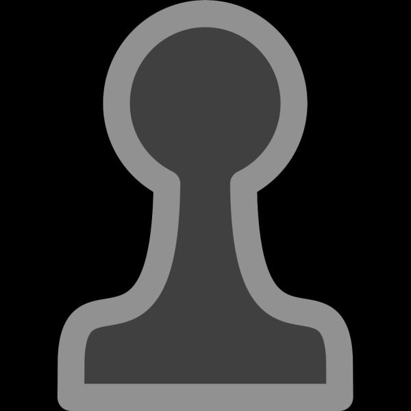 Chess Pawn Black PNG Clip art
