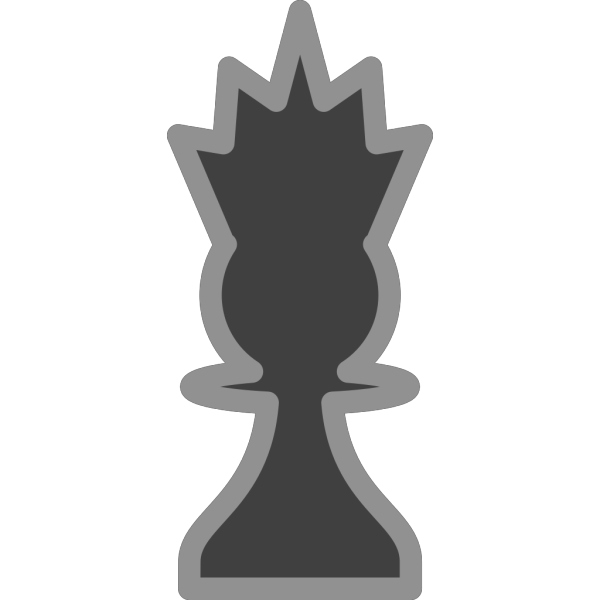 Chess Queen Black PNG images