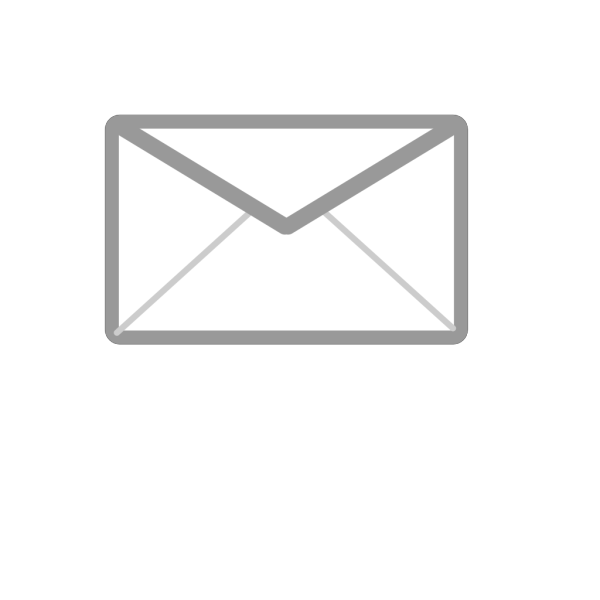 Closed Mailing Envelope PNG Clip art