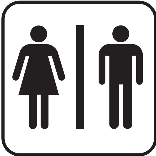 Men Women Bathroom 2 PNG icon