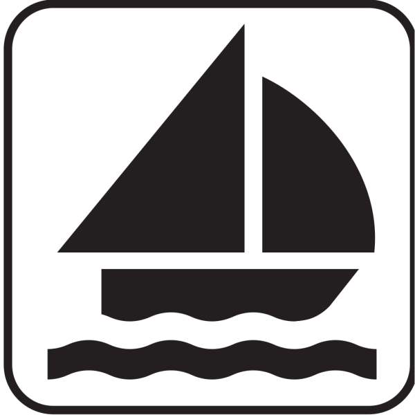 Boat Sailing 1 PNG images