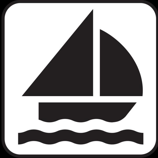 Boat Sailing 1 PNG Clip art