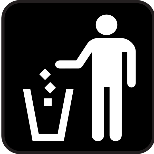 Trash Litter Box PNG Clip art