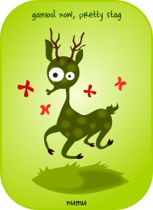 Cartoon Stag PNG images