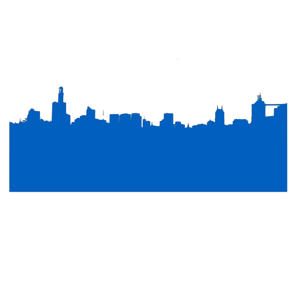 Blue Skyline PNG icon