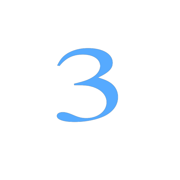 3 Countdown PNG images