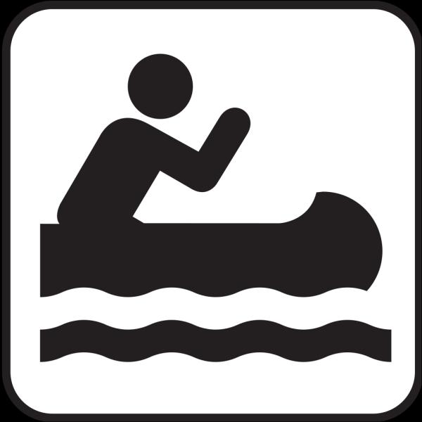 Kyaking Map Sign PNG Clip art