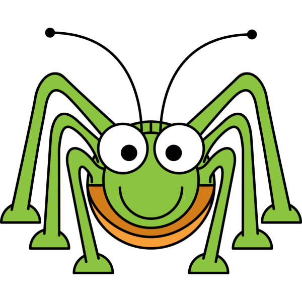 Studiofibonacci Cartoon Grasshopper PNG images