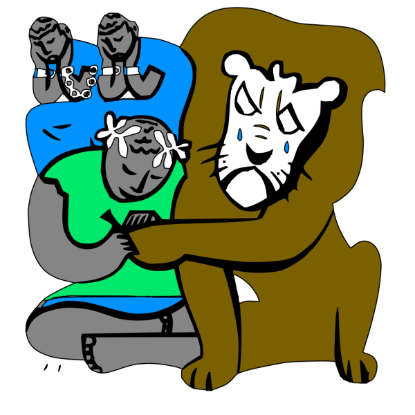 Androcles And The Lion PNG Clip art