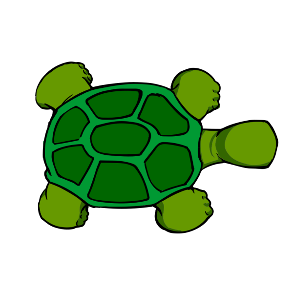 Kturtle Top View PNG Clip art