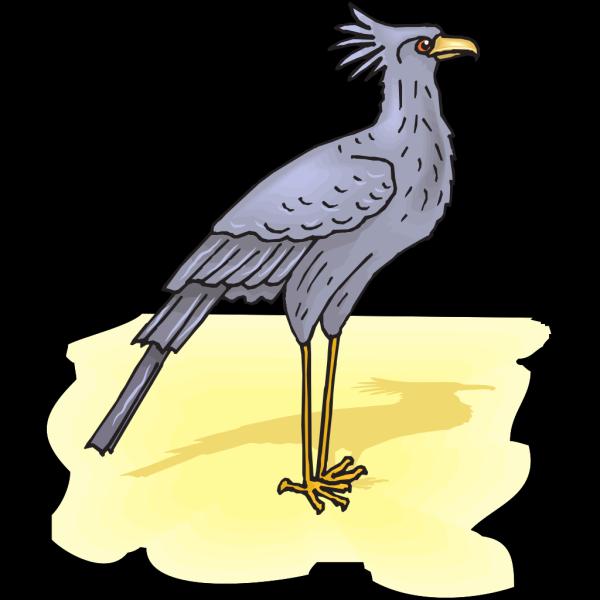 Secretary Bird PNG Clip art