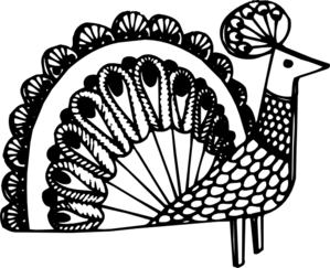Peacock Art PNG Clip art