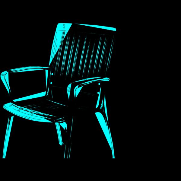 Chair Blue PNG Clip art