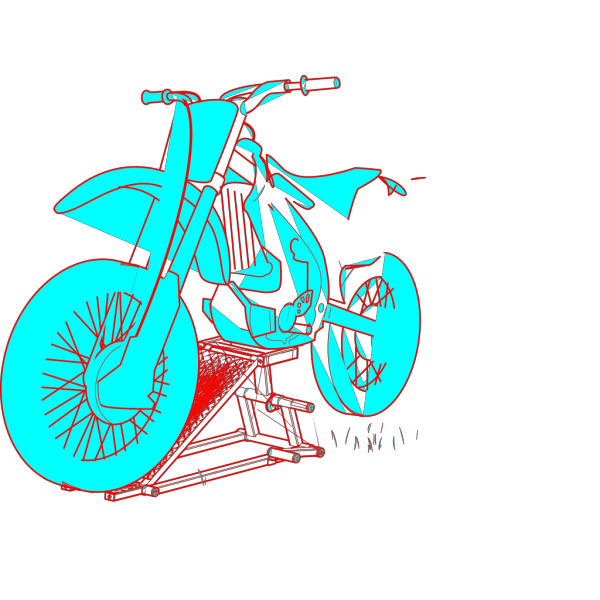 Blue Yed Moto PNG Clip art