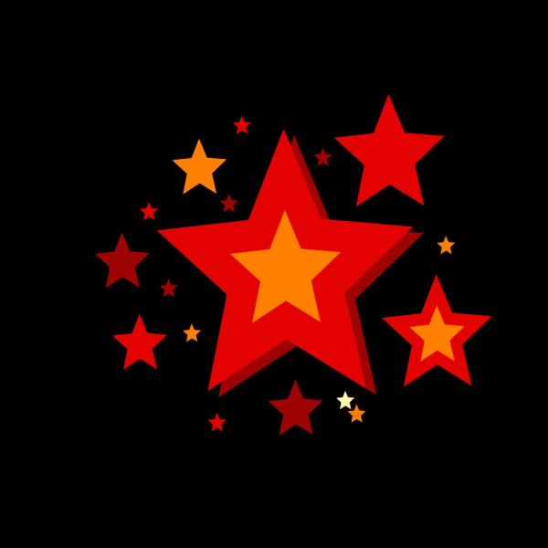 Three Stars PNG Clip art