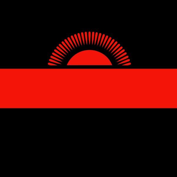 Malawi Flag PNG Clip art