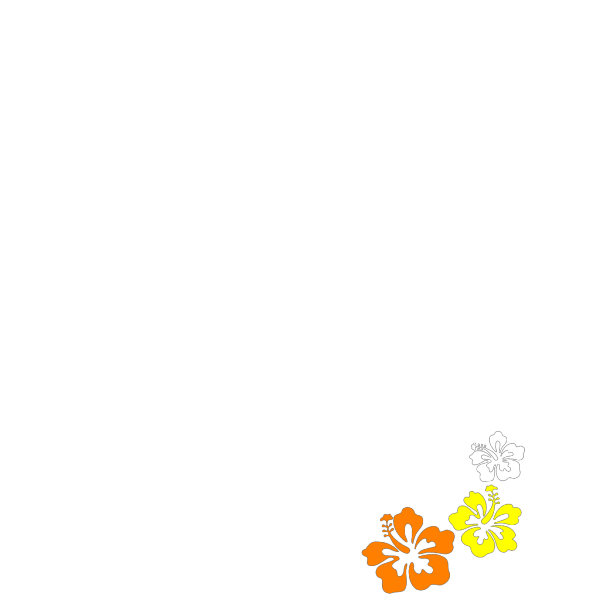 Hibiscus 3 PNG images
