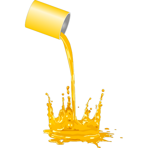 Paint Bucket Spilling PNG icon
