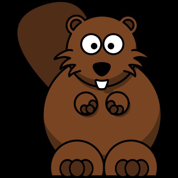 Cartoon Beaver PNG Clip art