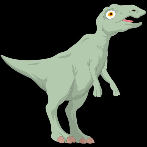 Big Eyed Dinosaur