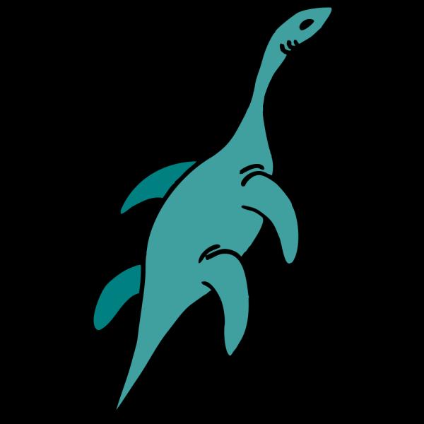 Aquatic Dinosaur PNG Clip art
